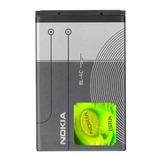 Bateria Original Nokia Bl-4c 890mah 3.7v 3.8wh E50