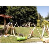 Kits Armable De Domo Geodesico 7 M Diametro