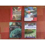 4 Libros Arquitectura Jardinería Diseño De Jardín Paisajismo