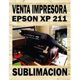 Impresora Epson Xp 211 Nueva Con Sistema Continuo