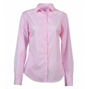 Camisa Brooksfield Mujer Elegante Algodón Lisa Bm03086z