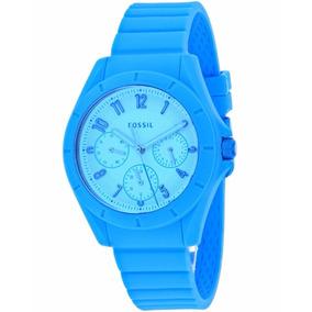 Reloj Fossil Es4189 Dama - Azul