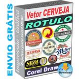 Vetor Logo Cerveja Rotulo Nacionais Importadas Arte Corel