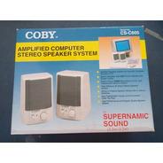 Caixa De Som Amplificada Para Pc Coby