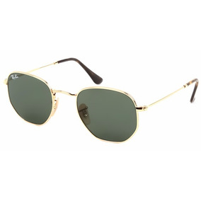 Óculos De Sol Ray-ban Rb3548n 001 54-21 Hexagonal