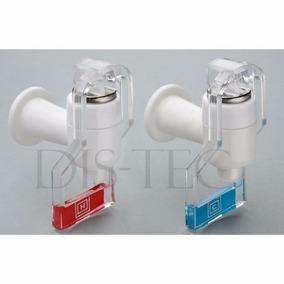 2 Canillas Para Dispenser De Agua Frio Calor