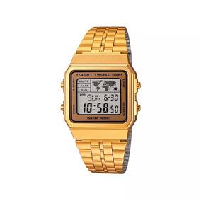 33c93ec310e Relogio Casio A500 Dourado - Joias e Relógios no Mercado Livre Brasil