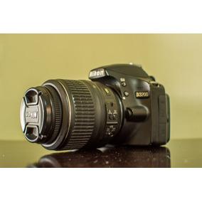 Nikon D3200 + Lente + Cartão + Bolsa