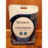 Audífonos Stereo Walkman Sony Headphones Nuevos Y Sellados