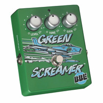 Pedal Bbe Green Screamer Overdrive