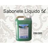 Sabonete Liquido 5 Litros Erva Doce / Bambu/ Pêssego/uva