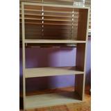 Repisa Librero Dormitorio Organizador 1.00mtx64x21 Poco Uso