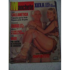 Revista Manchete 1931 Xuxa Aragão Carlitos Chaplin Trump1989