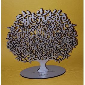 Árbol Padre Nuestro 18 Cm Comunión Regalo Souvenir