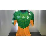 Camisa adidas Palmeiras 1914 Goleiro Manga Curta 2014