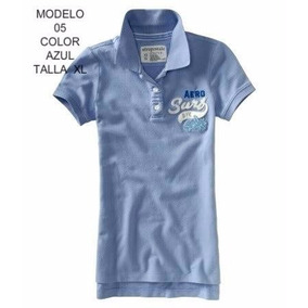 Hermosa Blusa Azul Aeropostale Talla Xl