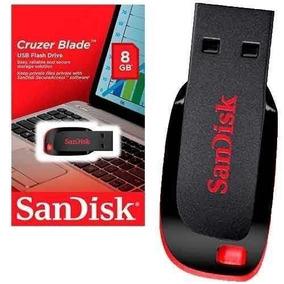 Pen Drive 8gb Sandisk 8 Gb Lacrado Novo Pronta Entrega