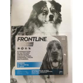Paquete De 3 Pipetas Frontline Plus De 10-20 Kg P/perro