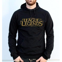 Blusa League Of Legends Casaco Moleton Canguru Com Capuz!!!