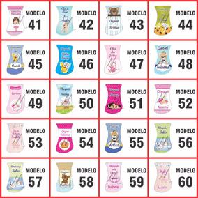 80 Chaveiros Pezinho Metal Com Abridor Lembrança Maternidade