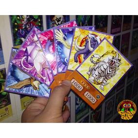 Combo 7 Cartas Feras De Cristal Yu-gi-oh Gx Versão Anime