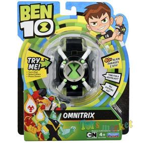 Reloj Ben 10 Omnitrix Con Luces Frases Y Sonidos