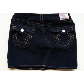 True Religion Jeans Sarah Falda De Pana Talla 28. Seven, R&r