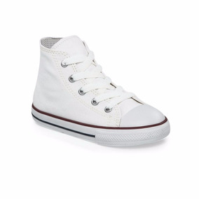 Zapatillas Converse Chuck Taylor All Star Core Hi Bebe Blanc