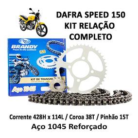 Kit Relação Completo Brandy Dafra Speed 150