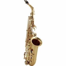 Saxofone Alto Sax Jupiter Jas700q Dourado Laqueado Eb + Case