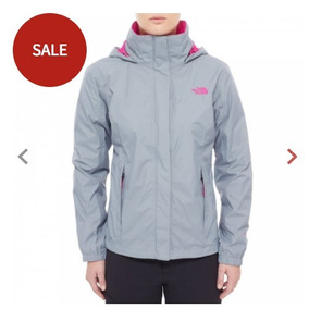 rompevientos north face mujer