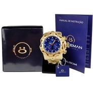 Relógio Masculino Spaceman Analógico + Caixa Premium Ros56