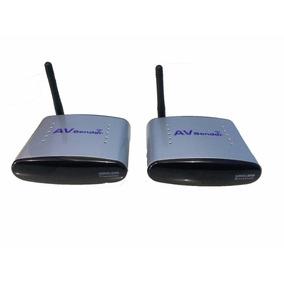 Transmissor E Receptor Wireless Av 2.4ghz Sem Fio Rca