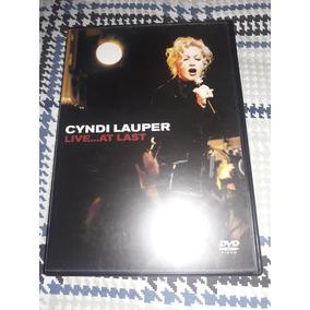 Dvd Cyndi Lauper At Last - Raro E Original