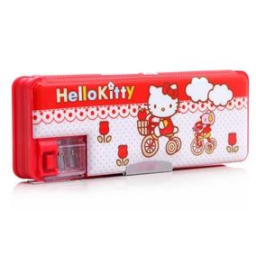 6b108e6b6c Estojo Automático Escolar Da Hello Kitty - Estojos no Mercado Livre ...