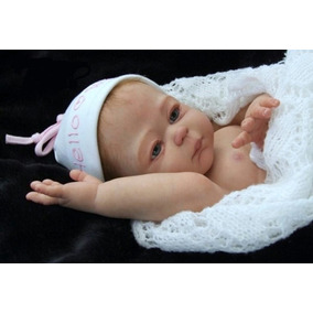 Bebê Reborn Carmela! Toda De Vinil Siliconado! Pronta Entreg
