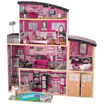 Casa Casita Kidkraft Sparkle Mansion Juguete Niñas Pm0