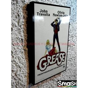 Cuadro Poster De Pelicula Grease Vaselina Envio Gratis Dhl