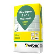 Revoque Weber 2 En 1 (interior) X 30 Kg Proyectar