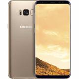 Samsung S8 64gb 4k 4g Lte Libre Stock Envio Gold Dorado
