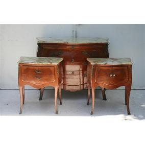 Muebles luis xv muebles antiguos en mercado libre argentina for Juego de dormitorio luis xv