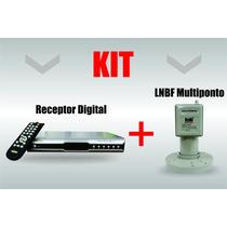 Receptor Parabólica Digital + Lnbf Multiponto