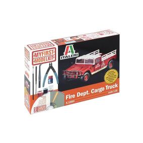Fire Dept. Cargo Truck My First Model Kit 1/35 Ita12004 Ital