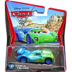 Disney Cars 2 Carla Veloso Mattel Mcqueen Francesco Miguel