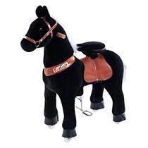 Juguete Smart Gear Pony Ciclo Negro Semental Del Montar A C