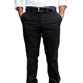 Pantalón De Vestir Negro Marca Concrete