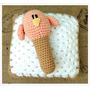 Sonajero De Animalitos Tejidos A Crochet