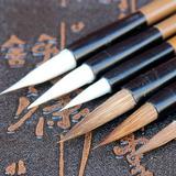 Pinceles Para Acuarela O Tinta China - Set De 6 Unidades