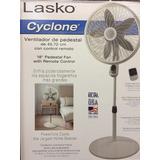 Ventilador Pedestal Control Remoto 45.7cm Diametr Oscilacion