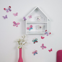 Vinil Decorativo 3d Mariposas Para Niñas Vianney